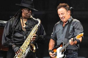 WEST PALM BEACH, Fla. (AP) -- Clarence Clemons, the larger-than-life saxophone player for the E...