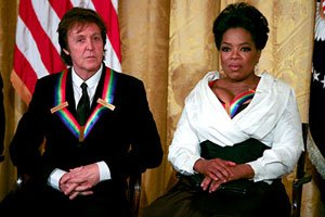 Paul McCartney and Oprah Winfrey received accolades during the recent 2010 Kennedy Center Honors. Courtesy Photo