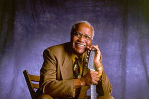 Pops Staples one of the foremost figures in American gospel music as a singer, guitarist, and founder of The Staple Singers family group, was honored by his hometown - Winona, Miss. Courtesy Photo