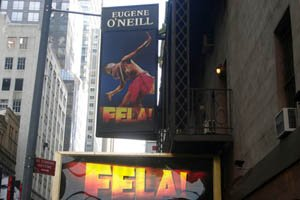 Attendees of Fela! on Broadway are immediately drawn into the world of the Nigerian musician,...