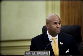 Former D.C. Councilman Michael Brown was caught Thursday in a sting operation by the FBI, according to WUSA (Channel 9).