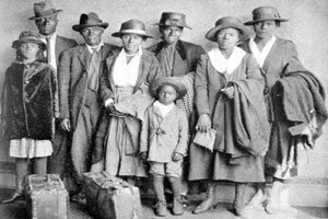 "African-Americans once were clustered so heavily in urban areas that the terms ""Black"" and ""inner..."