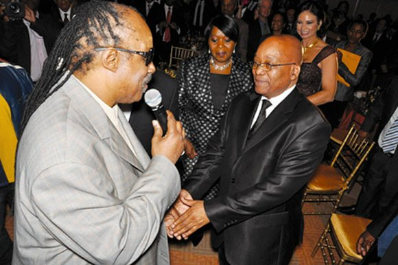 The Leon H. Sullivan Foundation honored His Excellency Jacob G. Zuma, President of the Republic...
