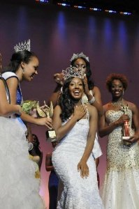 Oceilia Gibson, from Dallas, Texas, was crowned Miss Black USA in ceremonies that took place Aug. 8 in D.C./Photo by Rob Roberts