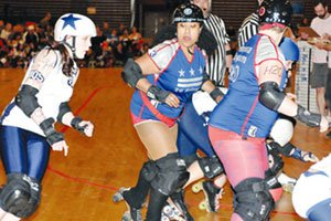 The D.C. Rollergirls rolled into action for their fifth season, Sun. Mar. 27...