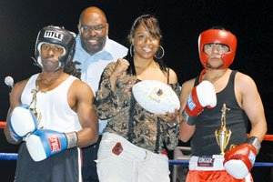 Health Fair and Boxing in Benning Terrace...