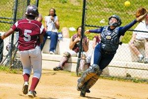 Marissa Coats drove in six runs as Howard's softball team dominated Maryland Eastern Shore...