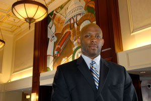 Thomas Penny III runs the Courtyard by Marriott Convention Center hotel, which is close...