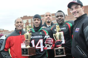 The H.D. Woodson Warriors used their potent defense to win its third consecutive District of...