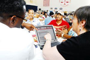 An estimated 600 people participated in a community meeting recently to determine the direction of...