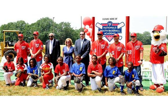 Washington Nationals Youth Baseball Academy...