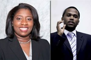 Florida A&M University (FAMU) graduates Virgil A. Miller and Tasha Cole are both...