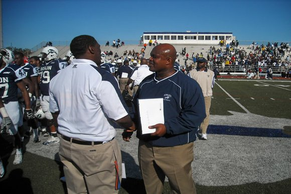 The Howard University Bison and the Lions of Lincoln (Pa.) renewed their rivalry which started...