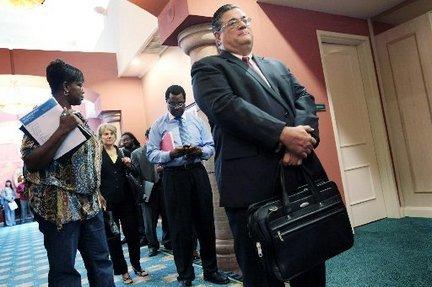 Congressional Delegate Eleanor Holmes Norton's 14th annual job fair drew more than 4,000 job hunters...