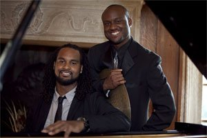 Twin Jazz Duo are Strathmore's March Artist In Residence...
