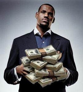LeBron James Photo Courtesy of Black Athlete Sports Network...