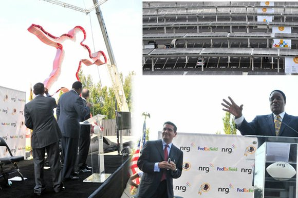 LANDOVER, MD -- -- A gentleman's agreement at the Super Bowl resulted in 8,000 solar...