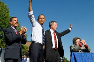 On Thursday, October 7, 2010, President Barack Obama attended an afternoon rally on the campus...