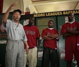 Legendary Negro Baseball Leaguer Recently Drafted by Houston Astros
