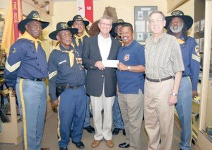 The Albert and Ethel Herzstein Charitable Foundation gave a check of $500,000 to the Buffalo Soldiers National Museum on Tuesday, ...