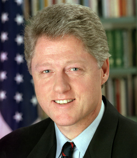 ¿Cuánto mide Bill Clinton? - Altura - Real height Bill-clinton-picture