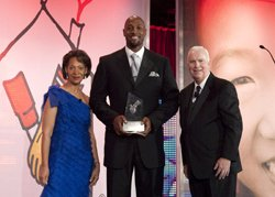 Seven-time NBA All-Star Alonzo Mourning received the Ronald McDonald House Charities® (RMHC®) Award of Excellence from chair of the Global ...