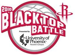 The Houston Rockets will host the sixth annual Blacktop Battle presented by University of Phoenix - Houston Campus on Saturday, ...