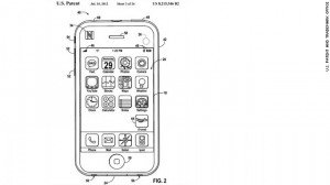 "[caption id=""attachment_69888"" align=""alignnone"" width=""300"" caption=""Apple's vision for its app, according to U.S. Patent and Trademark Office, shows an icon in ..."