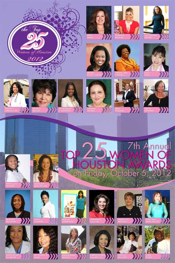 The Steed Society is pleased to announce the 7th Annual Top 25 Women of Houston Awards presented by Comerica Bank. ...