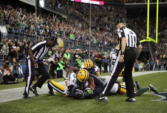 The NFL upheld the Seahawks' disputed 14-12 win over the Green Bay Packers and resumed meetings with its locked-out officials ...