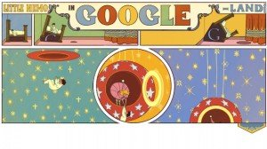 The doodles that spice up Google's plain white home page keep getting more elaborate.