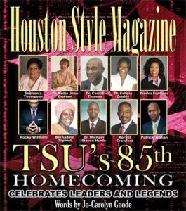 If your foundation is strong so will be your structure. Texas Southern University (TSU) has been and still is a ...