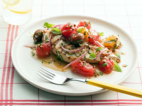 2 servings Ingredients Marinated Cherry Tomatoes: