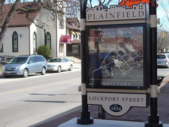Plainfield officials have approved a plan to move the downtown one step closer to historic designation status.