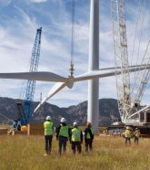 Ethiopia's new constructed Ashegoda Wind Farm to create a climate resilient economy by 2025.