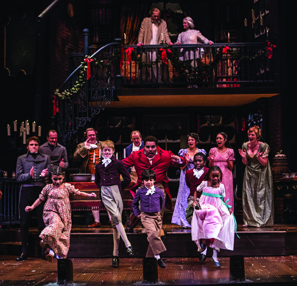 "A stripped-down, streamlined production by Goodman Theatre of Charles Dickens' classic ""A Christmas Carol"" uses a stripped-down, no nonsense approach ..."