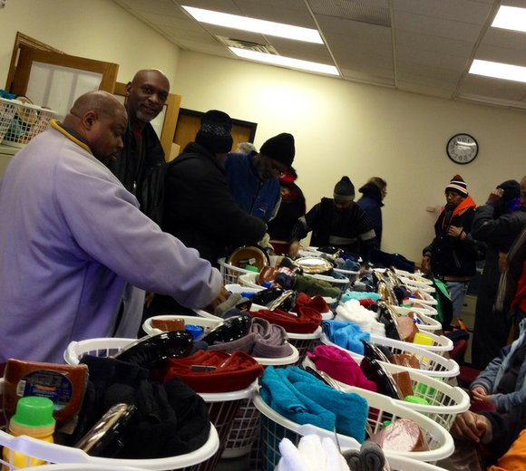 Veterans from throughout Will County on Monday received baskets filled with everything from clothing, towels and blankets to a variety ...