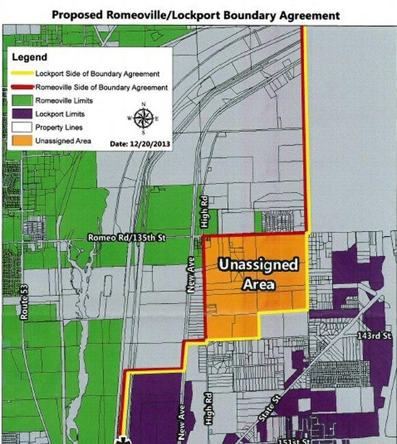 Lockport and Romeoville officials have approved a new boundary agreement, something that has never been done in the history of ...