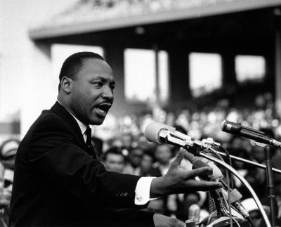 Dr. Martin Luther King, Jr. hasn't been this alive since 1968. He's no longer that visually distant, two-dimensional figure, limited ...