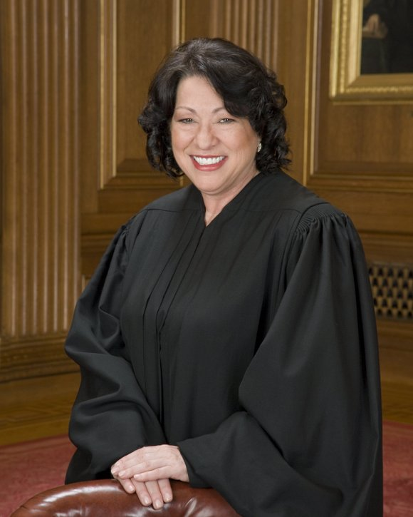 On the losing end of a 5-3 decision regarding police searches without a warrant, Sonia Sotomayor last week unleashed a ...