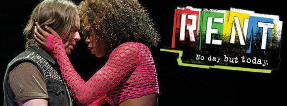"""""""RENT"""", the musical now underway way through April 6 at the Paramount Theatre in Aurora, is as moving and relevant ..."""
