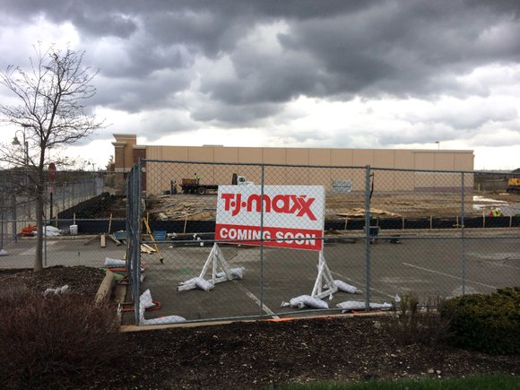 The T.J. Maxx clothing retailer in Crest Hill will be closing once a new store now under construction opens in ...