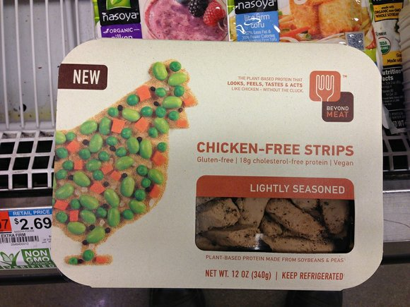 Dear EarthTalk: I recently became vegetarian for ethical reasons, but I am missing the taste of meat. Are there any ...