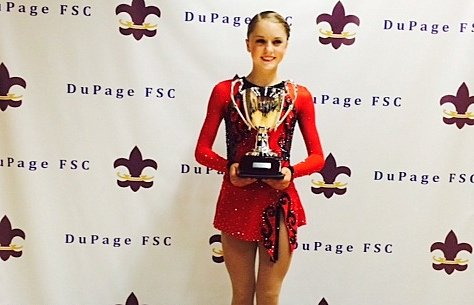 Coming off a Gold Medal performance at the DuPage Figure Skating Open, Romeoville High School freshman Paige Rydberg will head ...