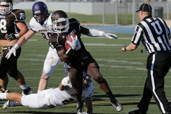 The St. Francis Saints Football team lost a heart breaker in overtime on Saturday against Concordia College.