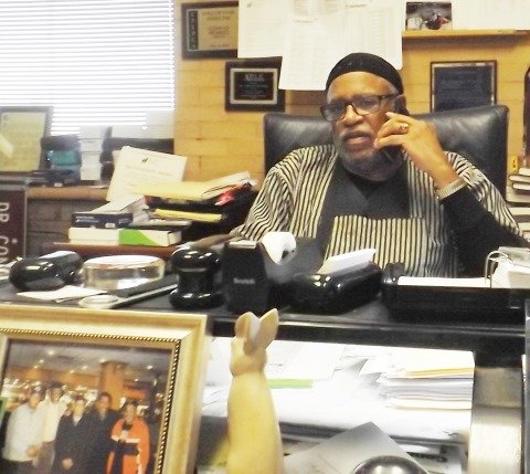 Activist and scholar, Dr. Conrad Worrill, 73, director and professor at the Jacob Carruthers Center for Inner City Studies, Northeastern ...