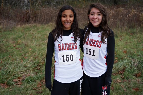 Bolingbrook High School sophomores Triana Rodriguez and Arianna Amill qualified for the Illinois High School Association state cross-country finals with ...