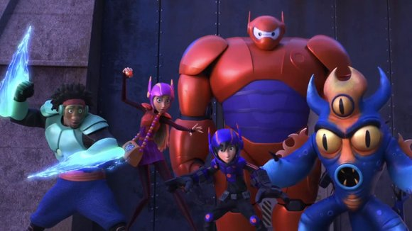 <strong>Big Hero 6</strong> (PG for action, peril, crude humor and mature themes) Animated family comedy inspired by the Marvel Comics ...