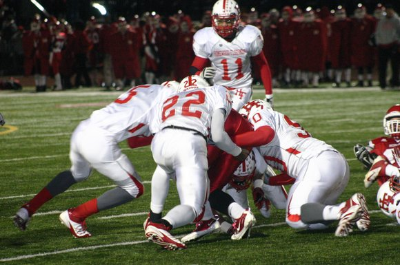 The Bolingbrook Raiders saw their season come to an end Saturday night after Homewood-Flossmoor took advantage of Raider mistakes that ...