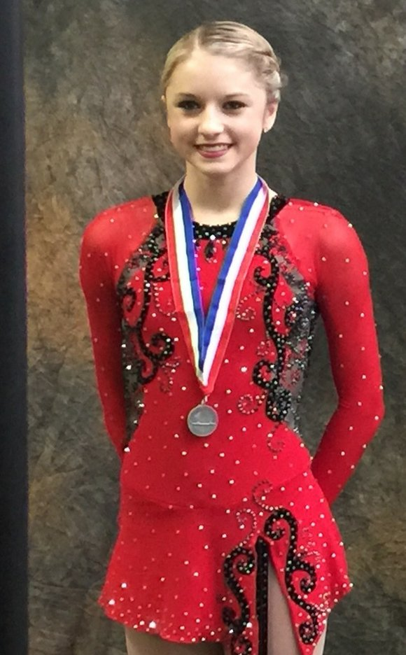 Romeoville High School freshman Paige Rydberg qualified for January's U.S. National Figure Skating Championships in Greensboro, NC by finishing fourth ...